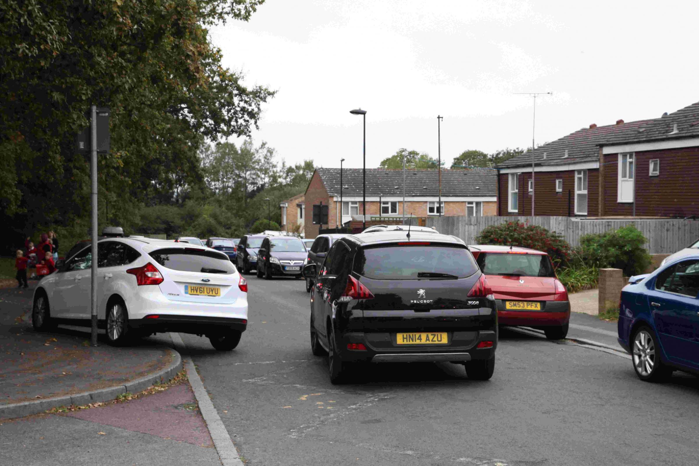 Drivers facing fines for parking on yellow zigzag lines in