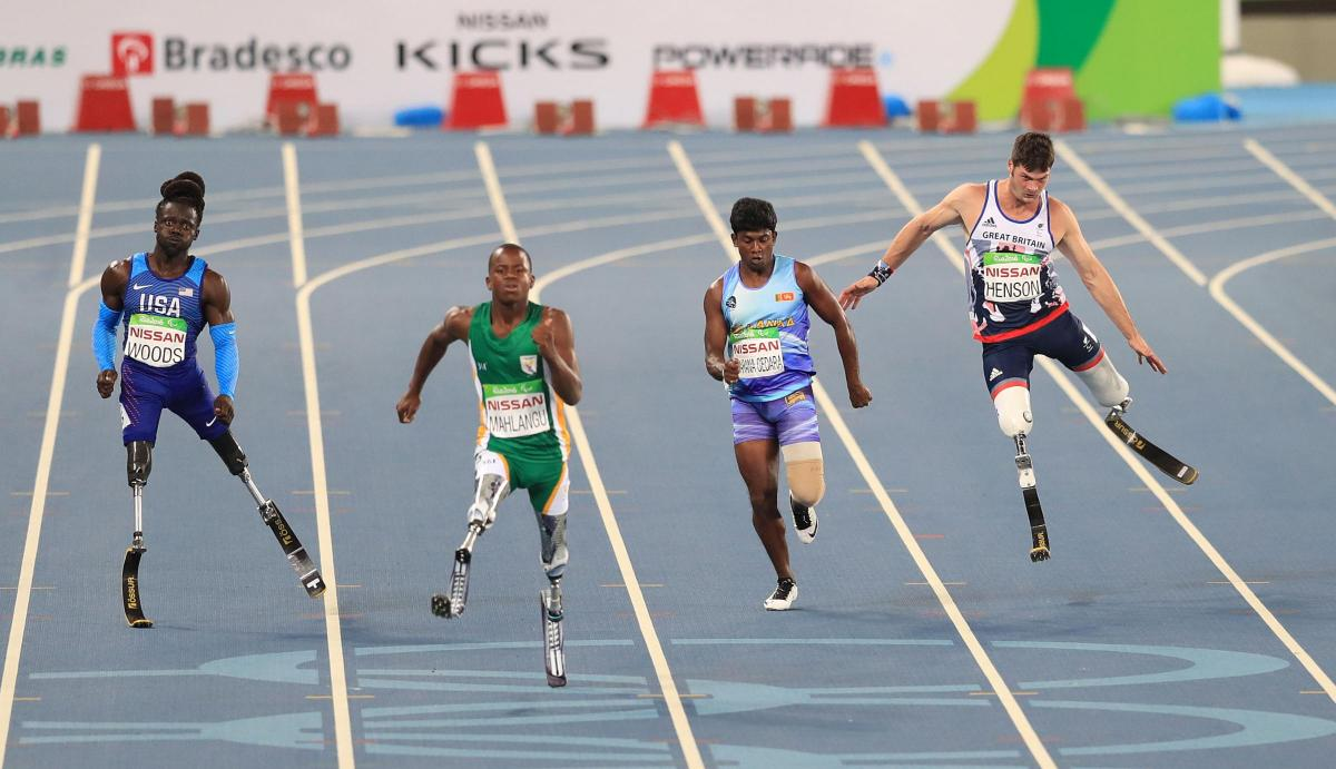 Southampton blade runner Dave Henson wins Paralympic bronze