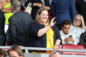 Saints owner Katharina Liebherr