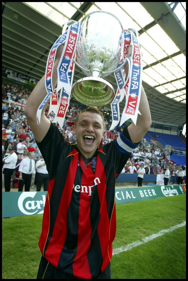 Winchester Citys Fa Vase Winning Skipper Danny Smith Is Back At The