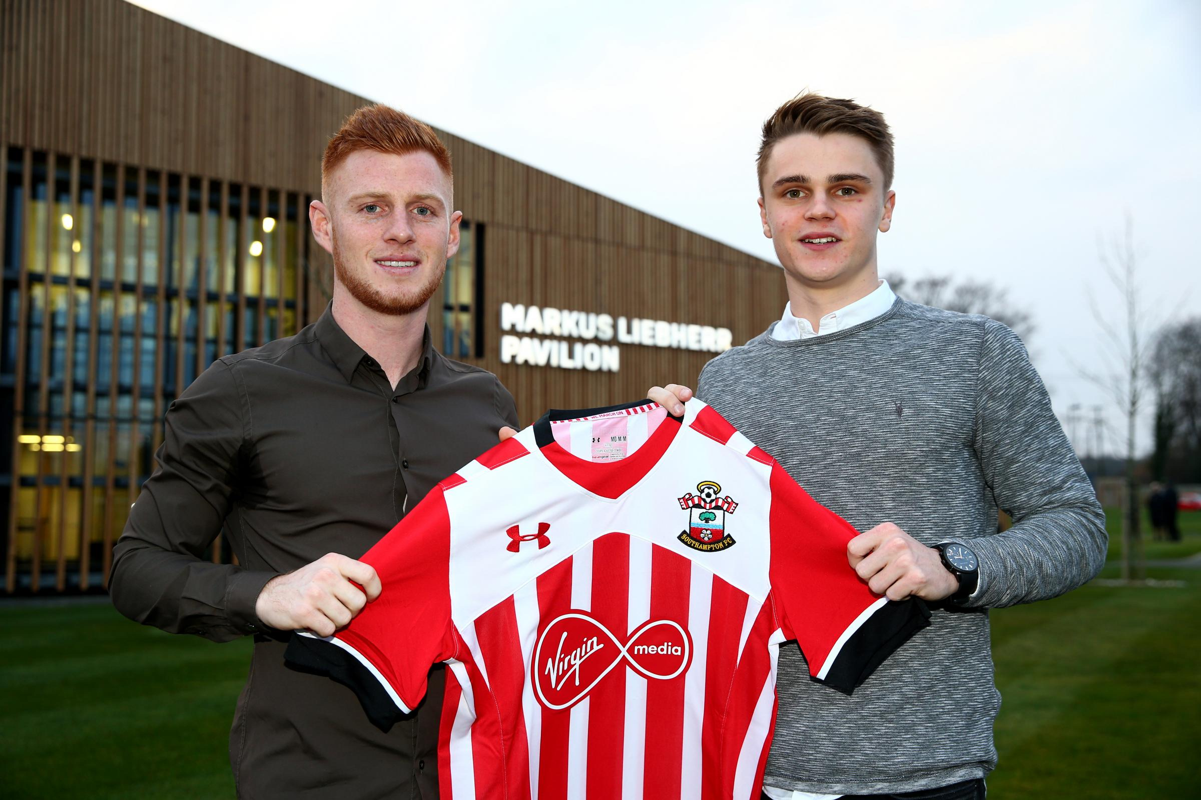 Saints make double deal for academy stars