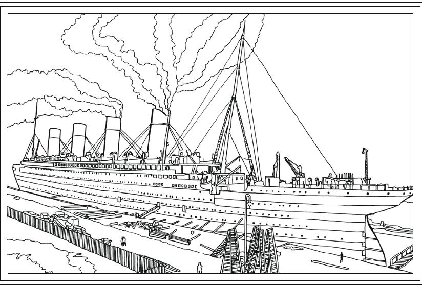 Titanic colouring book hits the shelves | Daily Echo