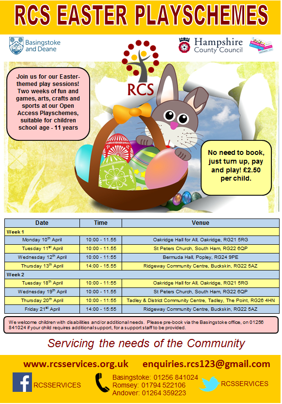 RCS Easter Playscheme