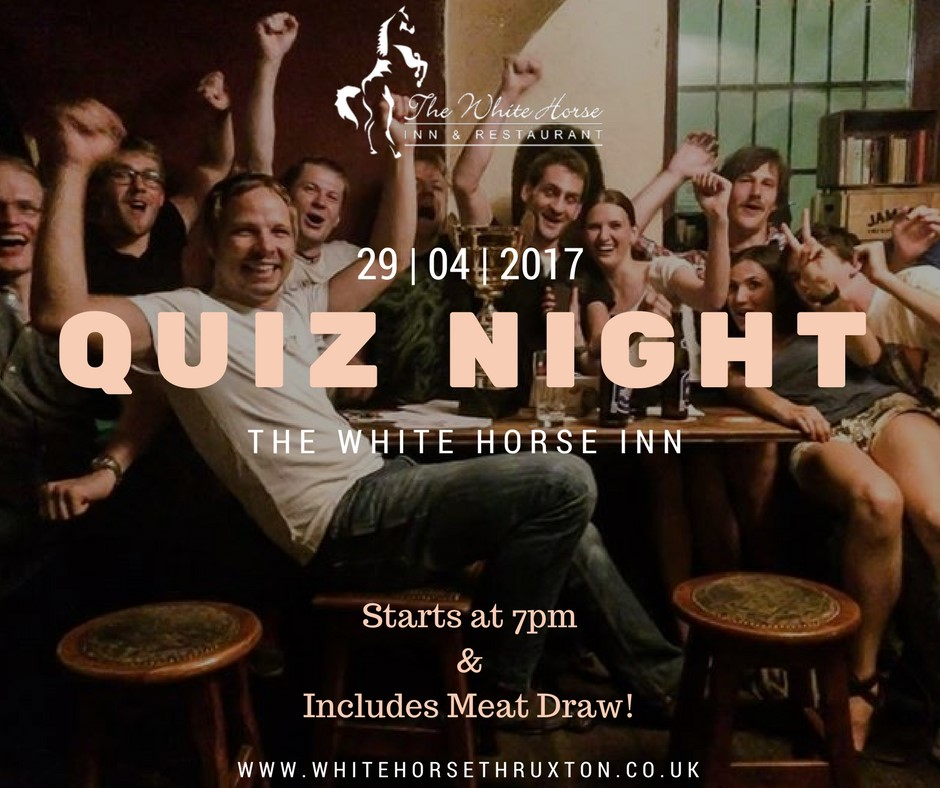 Quiz night and meat draw