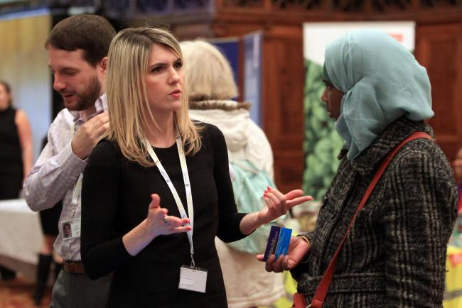 Daily Echo Jobs Fair, Guildhall, Southampton.                 Picture: Chris Moorhouse.