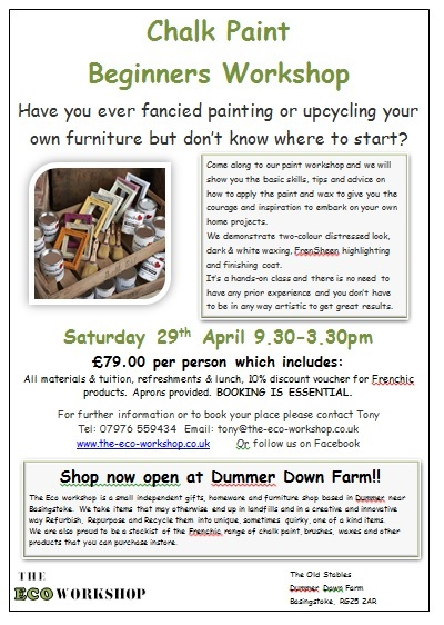 Chalk Paint Beginners Workshop
