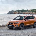 Daily Echo: The 4.36-metre Seat Ateca shares the distinctive front styling of its hatchback cousin