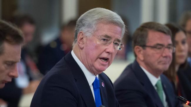 Trade and security must be linked in EU talks, Sir Michael Fallon says