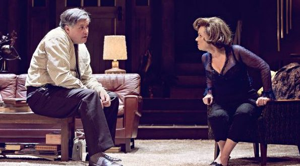Conleth Hill & Imelda Staunton in Who's Afraid Of Virginia Woolf