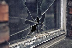 Gran too scared to sleep after man smashed her window with pole