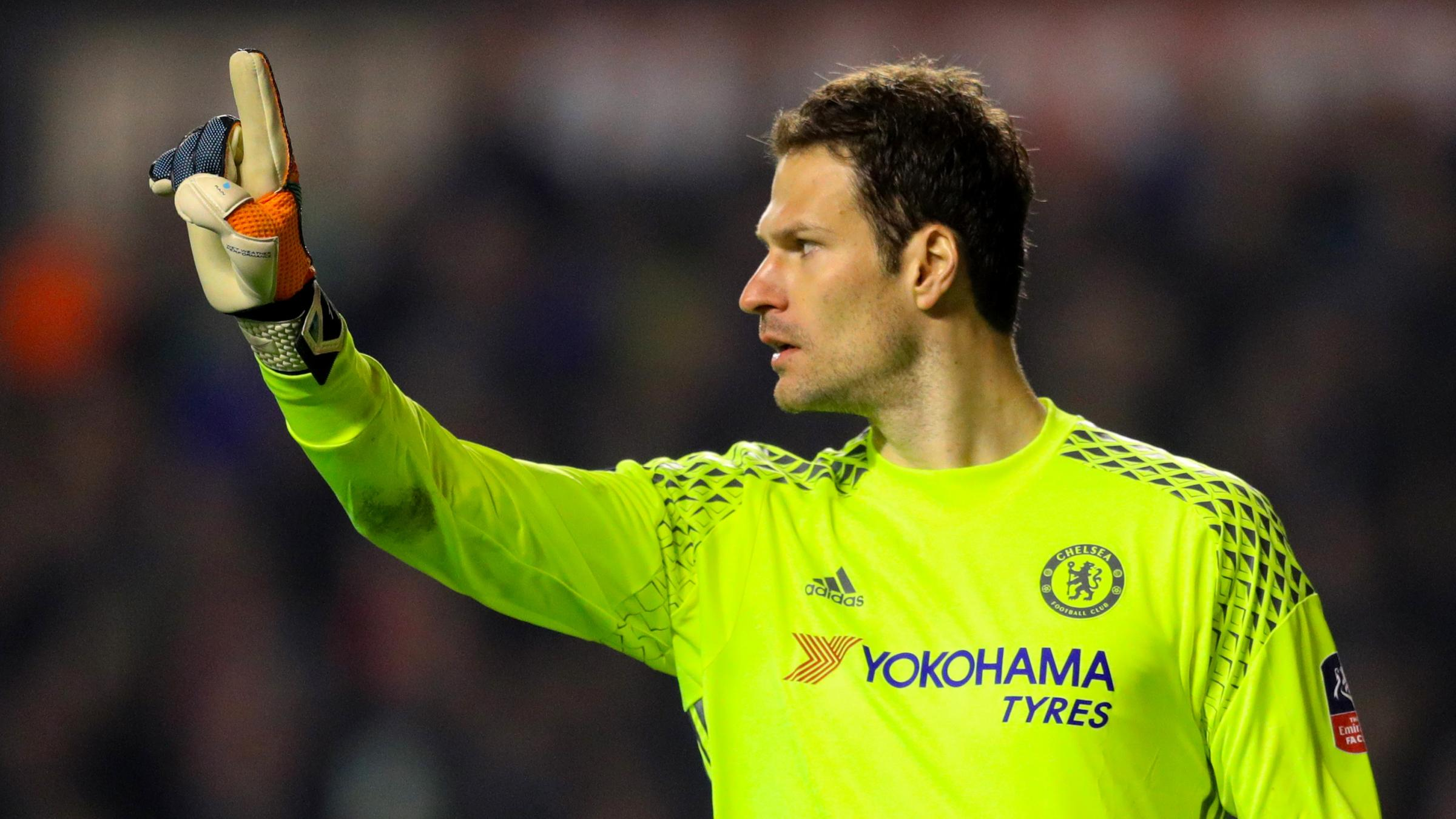 Bournemouth sign goalkeeper Asmir Begovic from Chelsea