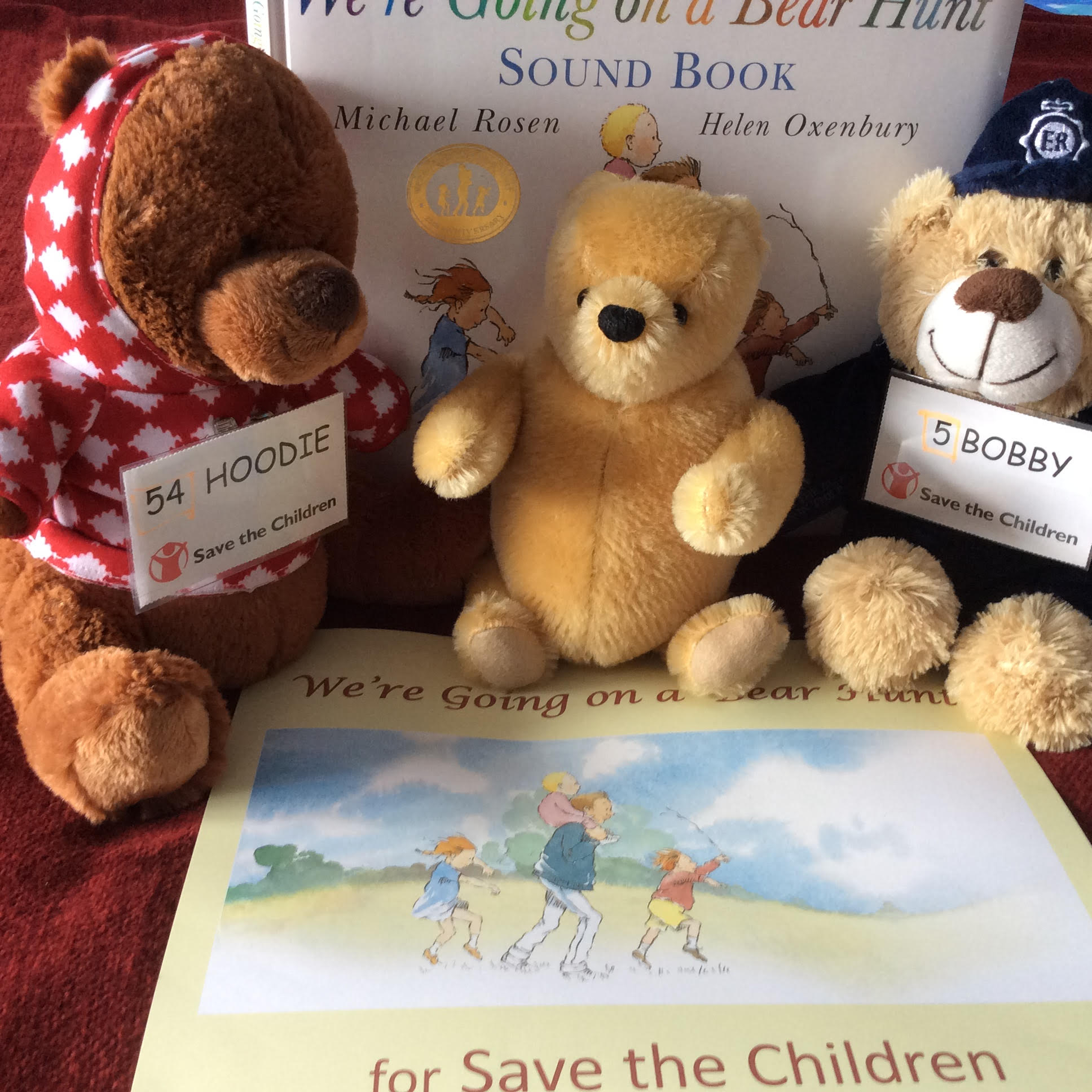 SAVE THE CHILDREN'S BIG  BEAR HUNT