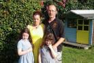 Simon Herring and his family were left upset after their home was attacked by vandals.