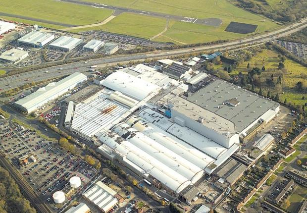 Daily Echo: Southampton's Ford factory