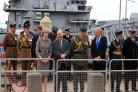 May thanks military for 'fantastic job' on Armed Forces Day