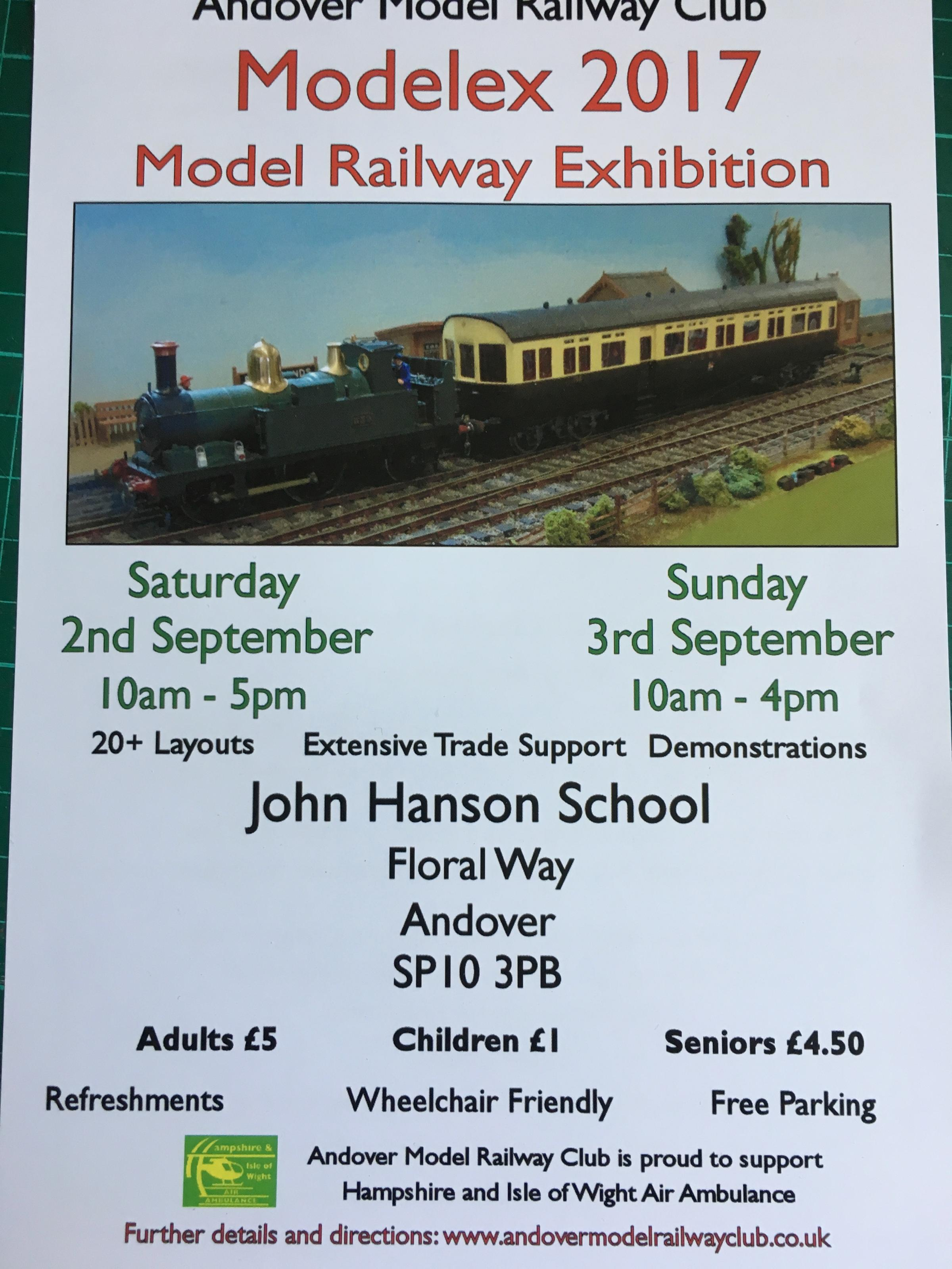 Andover Model Railway Club Exhibition