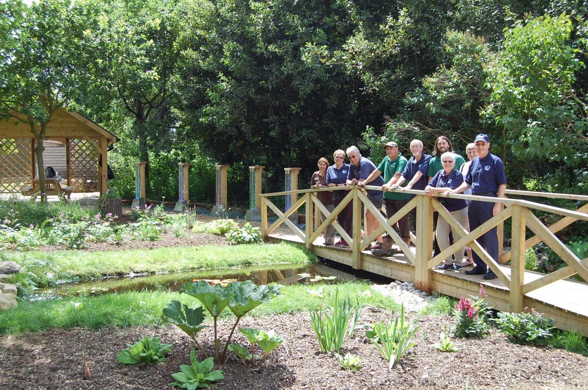 sensory garden set to form part of multi million pound beauty spot plans - Sensory Garden