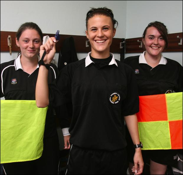 From left – Shelby Davis, Lucy May and Hollie Moisey at Blackfield & Langley.