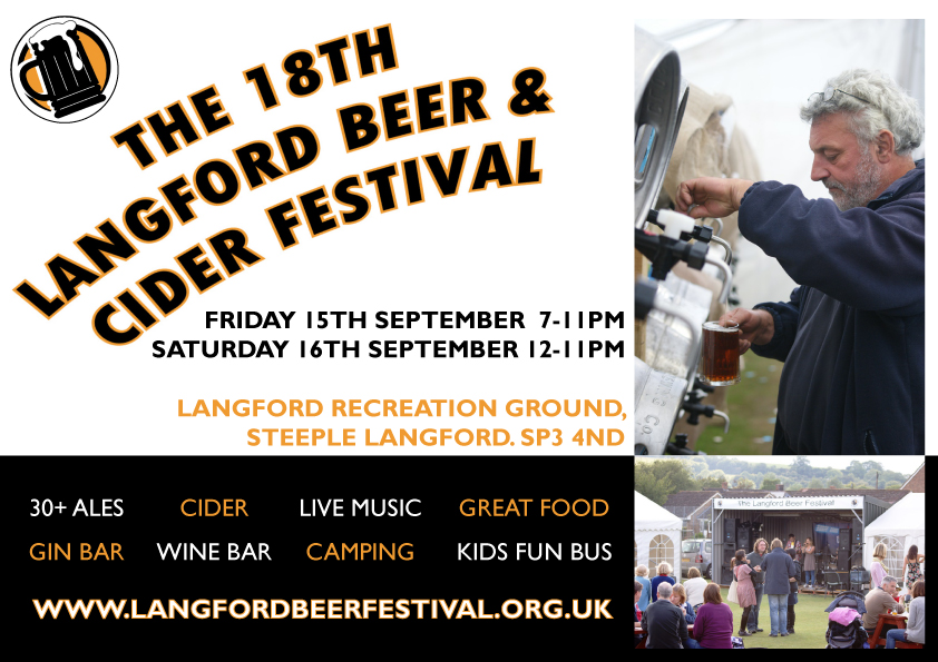 The 18th Langford Beer and Cider Festival