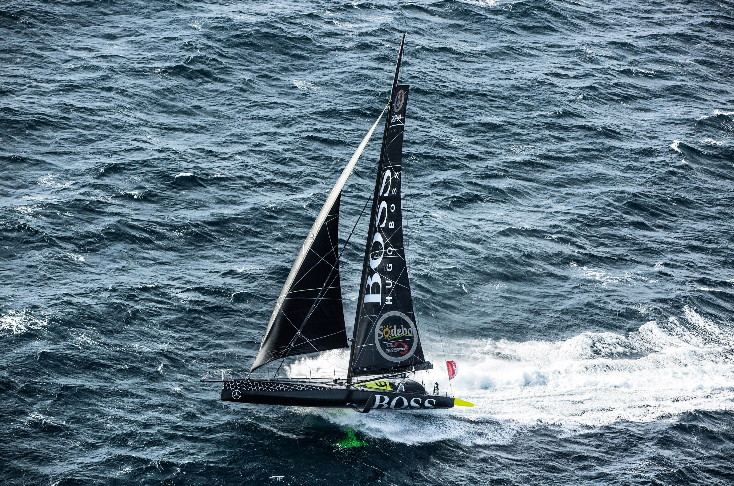 Alex Thomson's Hugo Boss (Cleo Barnham/Hugo Boss)