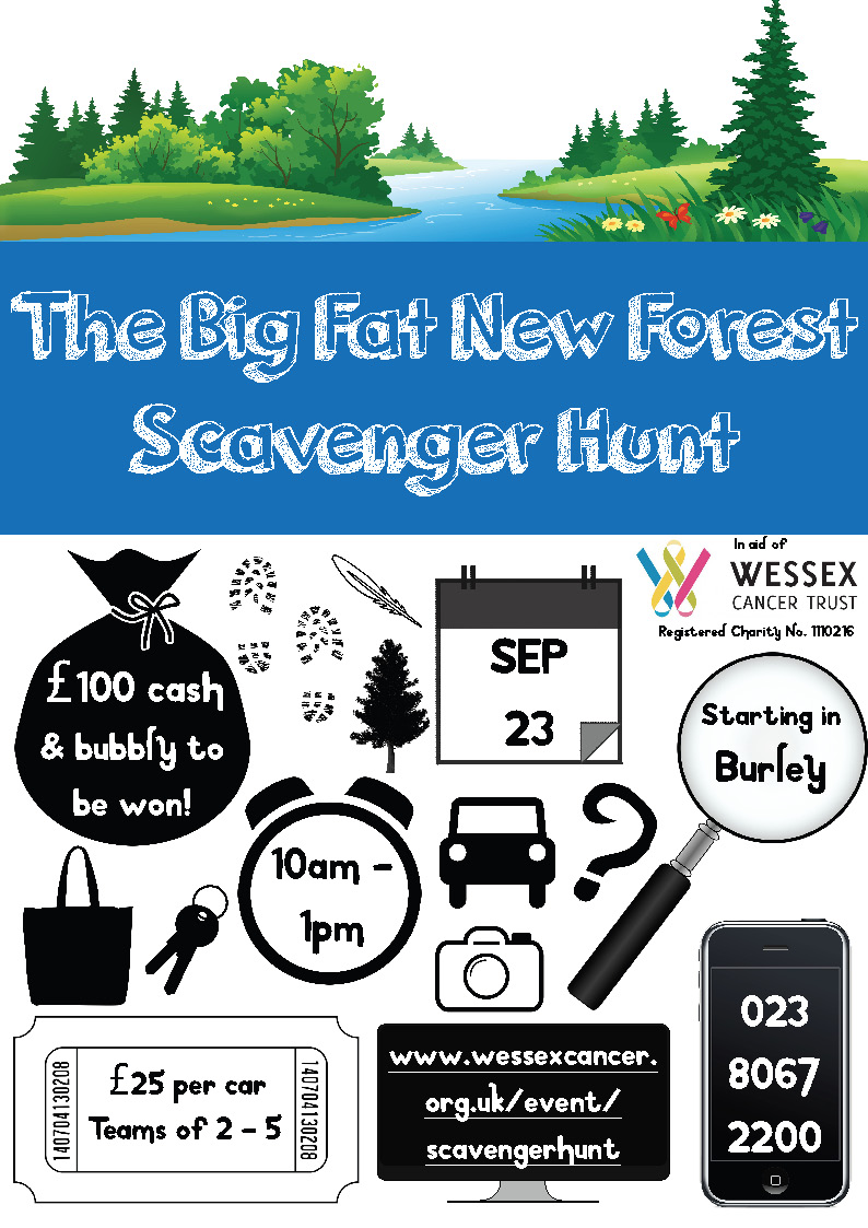 The Big Fat New Forest Scavenger Hunt 2017