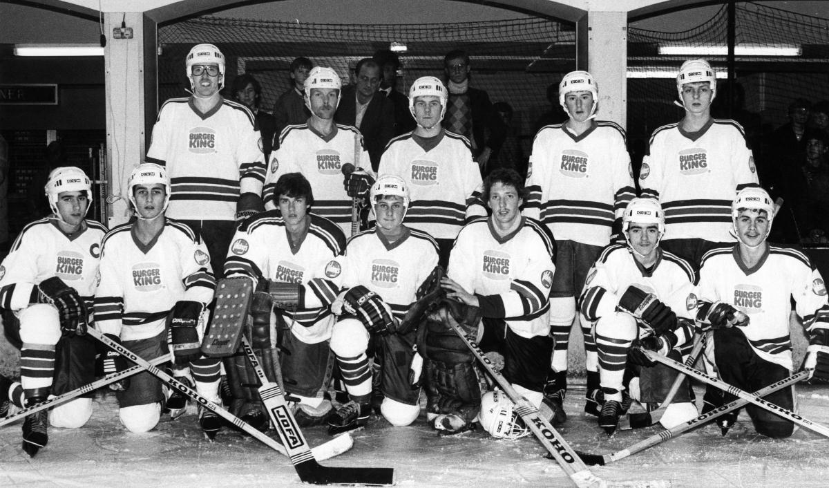 Photos When The Southampton Vikings Pillaged The Hockey Leagues