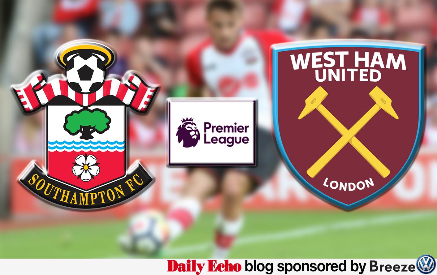 Southampton v West Ham - Premier League