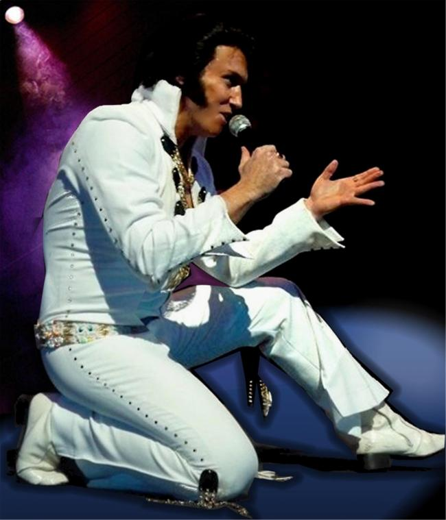 On Tour With Elvis performed by Michael King