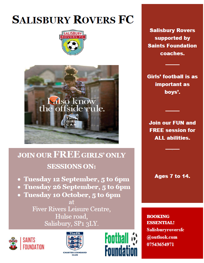 Free girls' football sessions