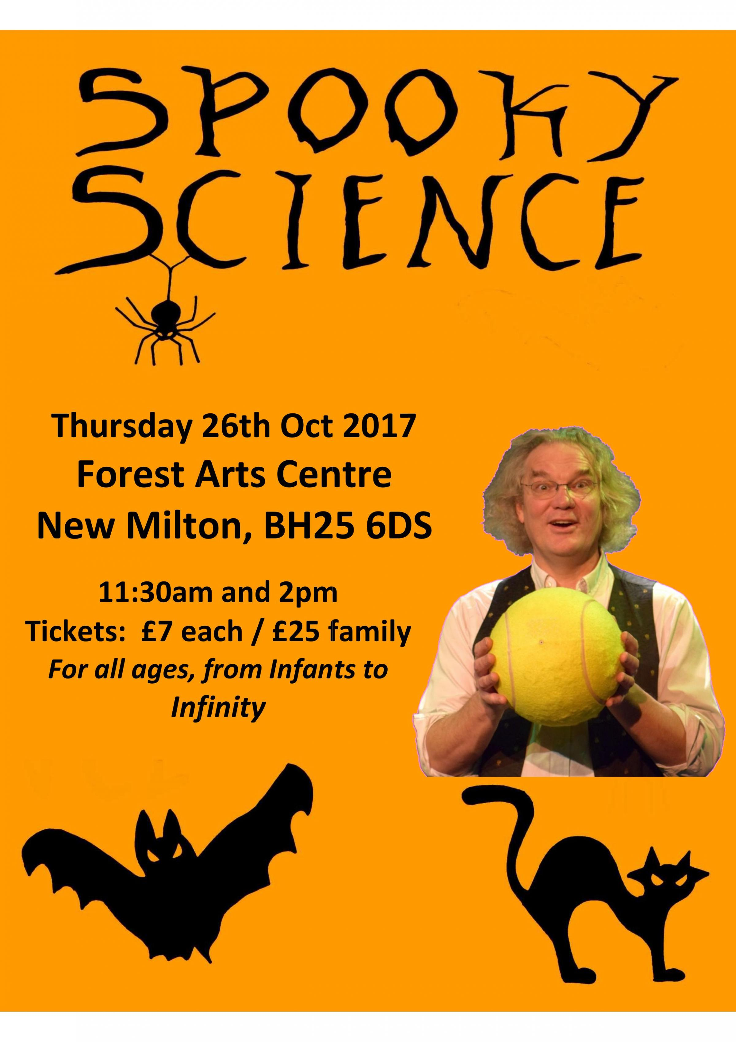 Spooky Science with Ian B Dunne