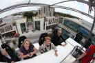 Southampton in the Sky dining experience at Guildhall Square