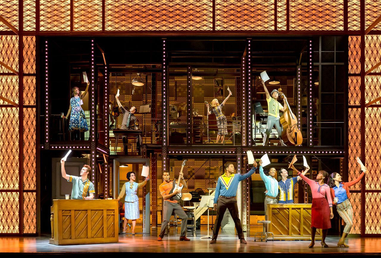 A scene from Beautiful, the Carole King Musical