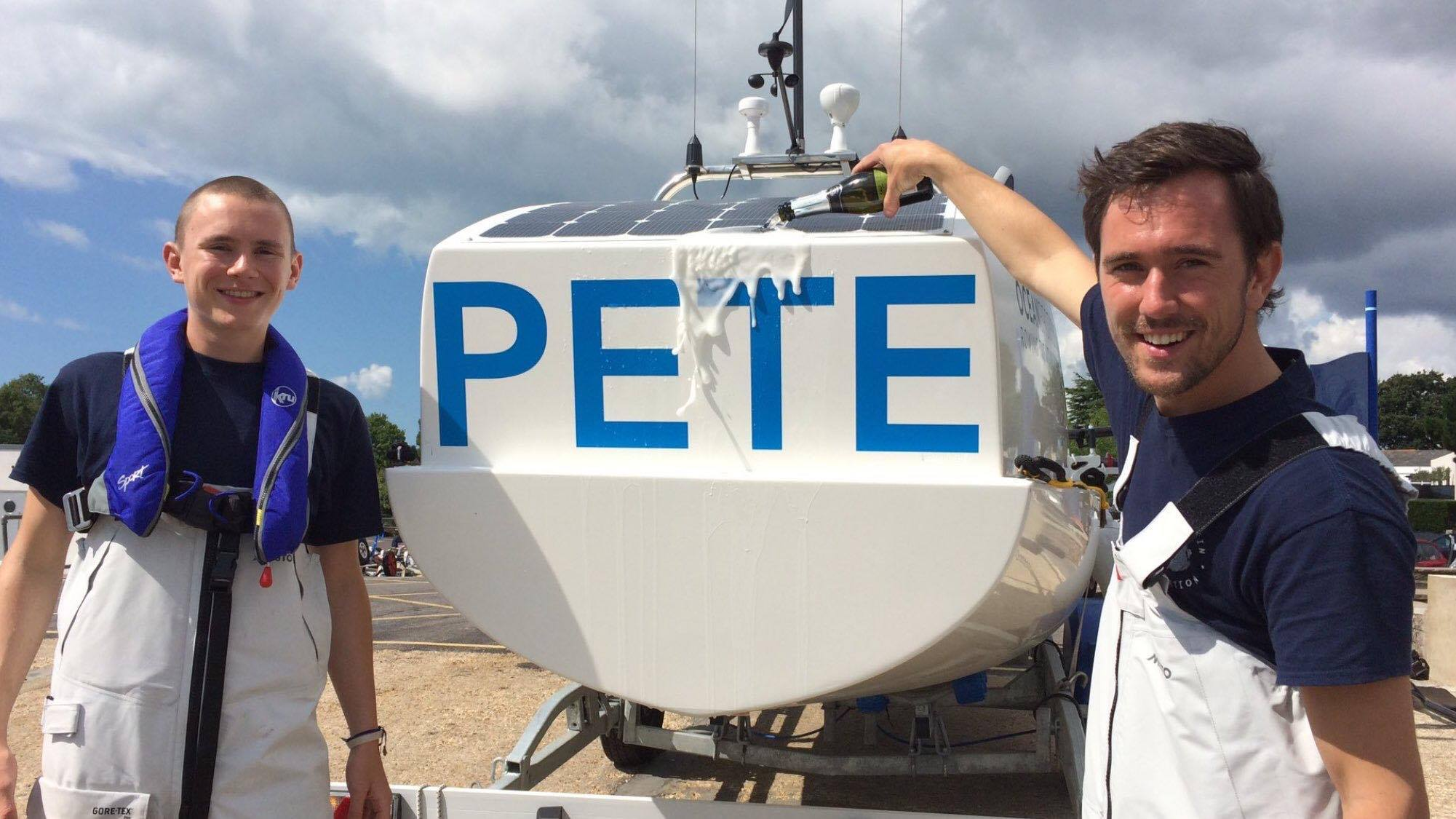 Boat named after Peter.