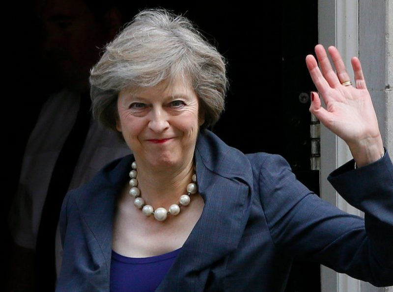 PM Theresa May got little sympathy from Swindon tweeters after announcing a delay to the big Brexit vote