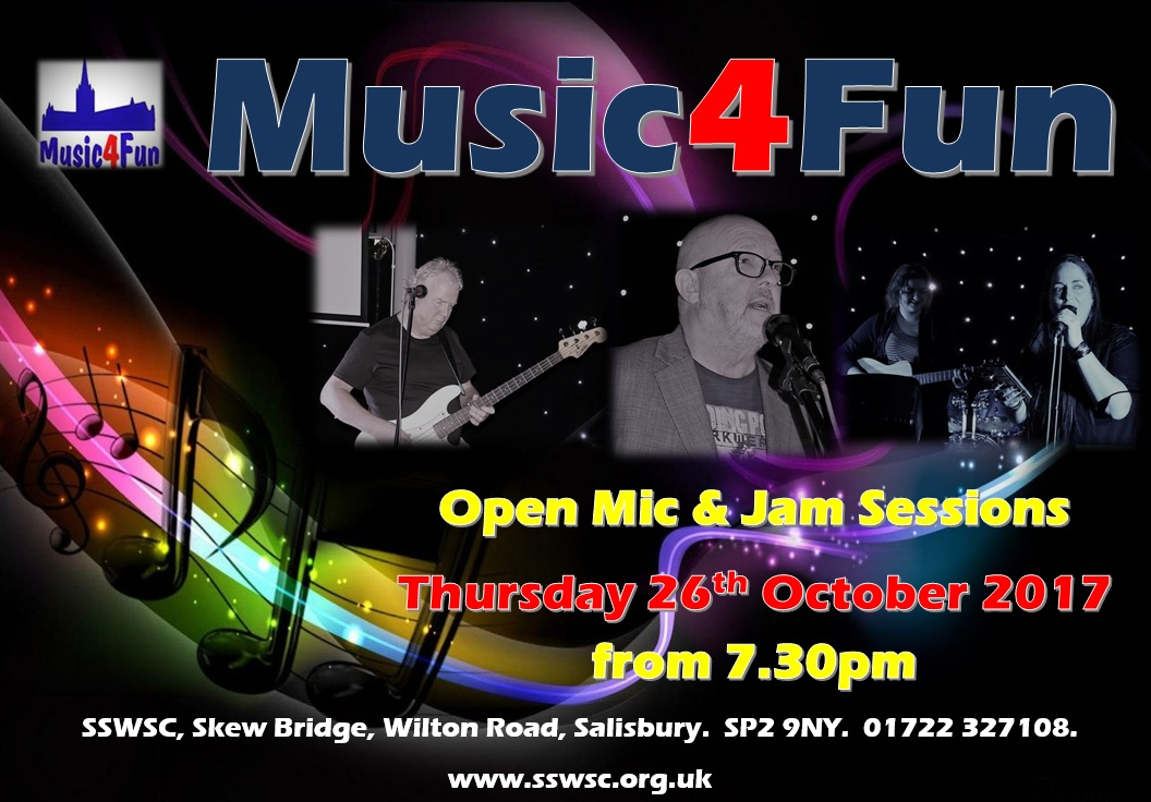 Music4Fun Open Mic Night