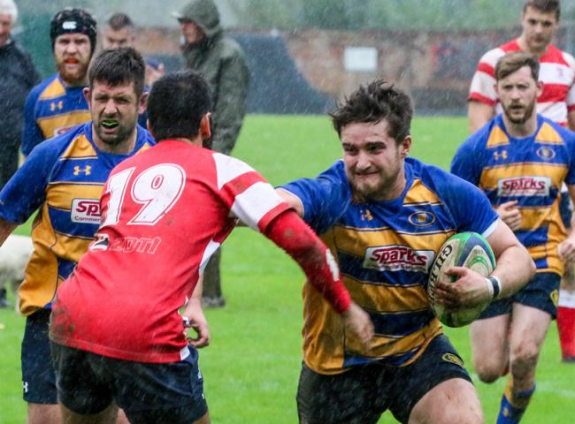 Action from Romsey's home win over Southampton. Pic by Terry Jamieson.