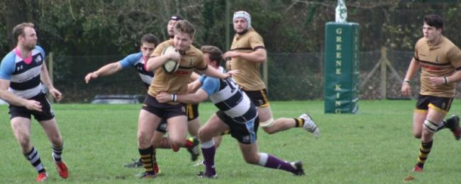 Action from Winchester's loss to Old Tonbridgians.