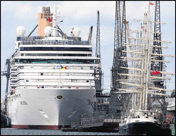 Southampton-based cruise ships diverted from Argentina