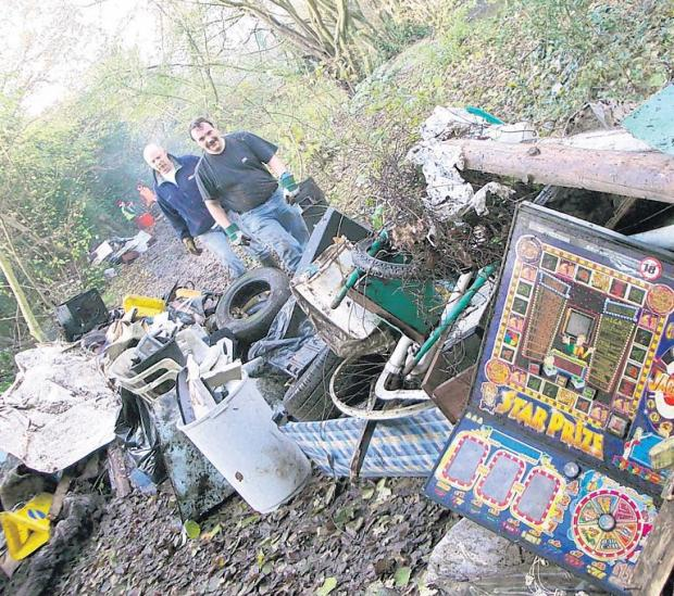 Fly-tipping rise costs taxpayers thousands