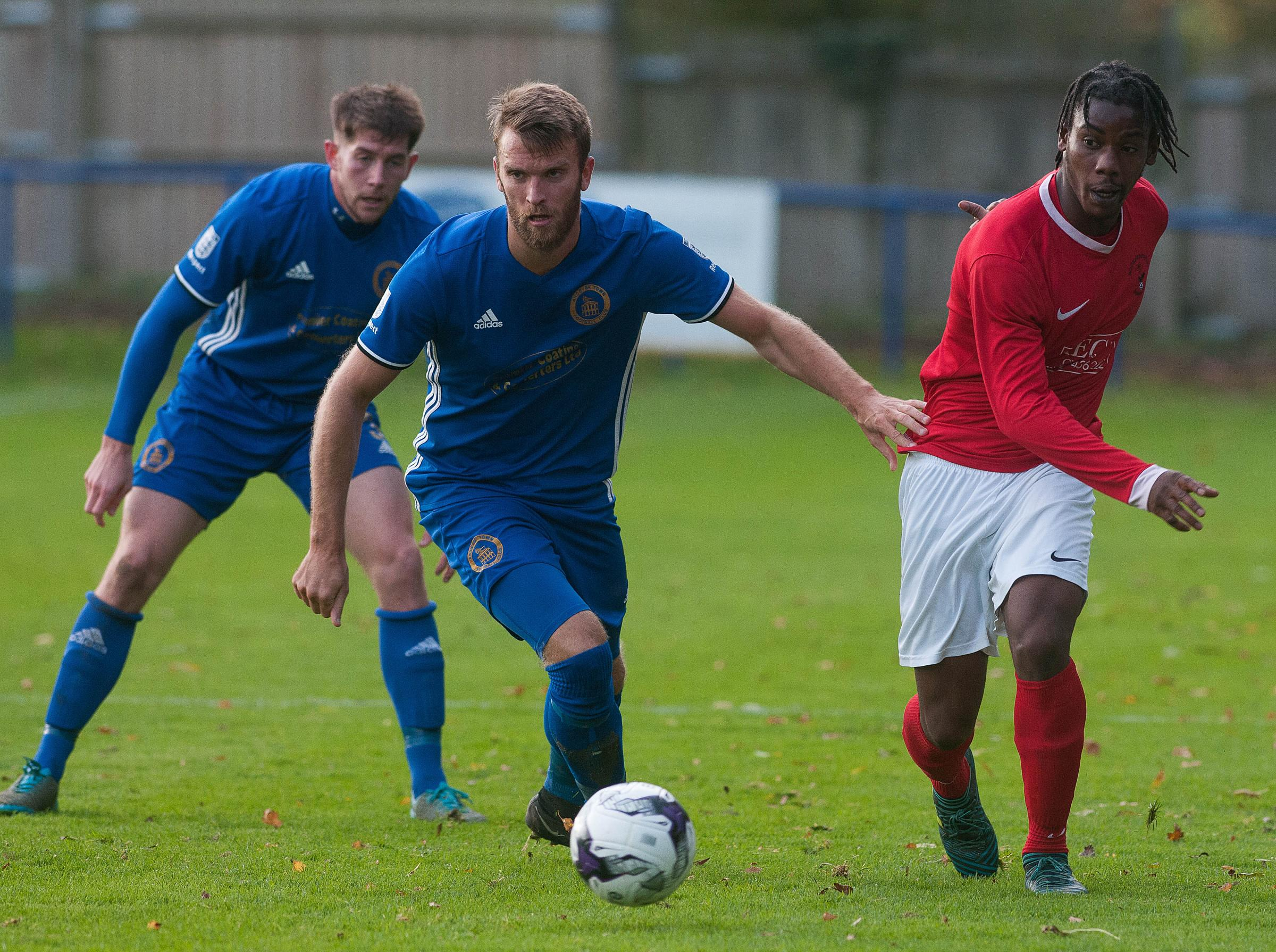 Andover's Mike Gosney (photo: Andy Brooks)