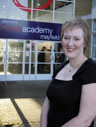Oasis Academy Mayfield head Ruth Johnson