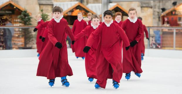 Daily Echo: The Winchester Cathedral ice rink and Christmas market are back again later this year