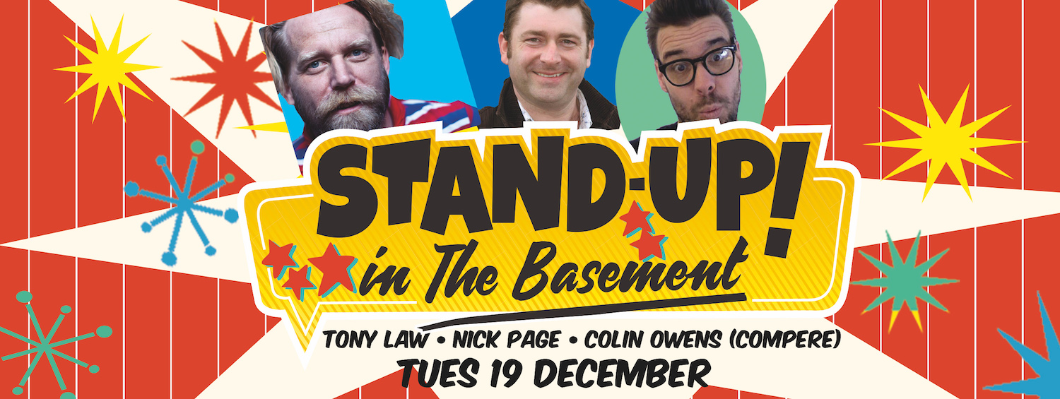 Stand Up in The Basement Comedy