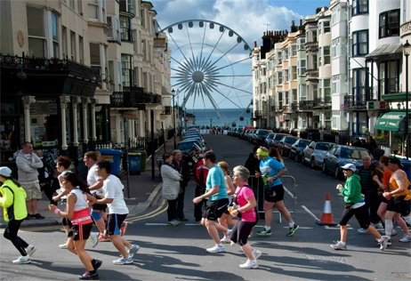 Brighton marathon in aid of Southampton Hospital Charity