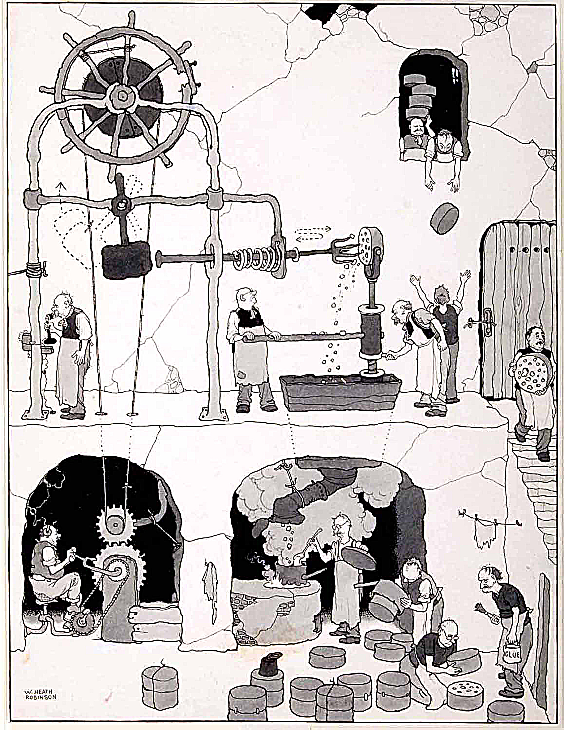 Heath Robinson: Dreams and Machines exhibition