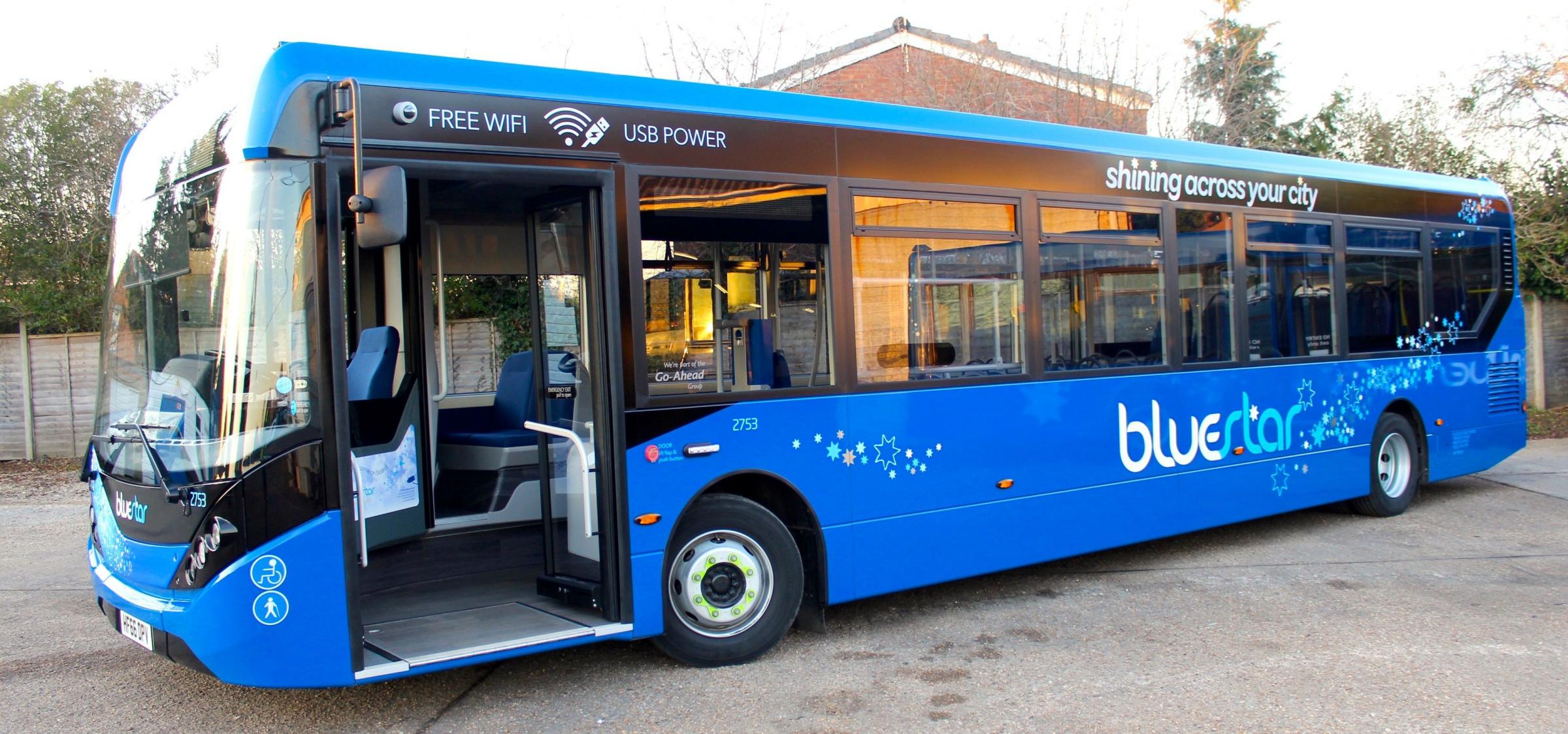 Bluestar will extend its Bluestar 7 service to pick up the route left behind by the axed First 12 service
