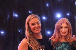 The organisers of the R3 Southern Ball (L to R) Chloe Hicks, Shelley White, Rebecca Chaplin and Olivia Proudley