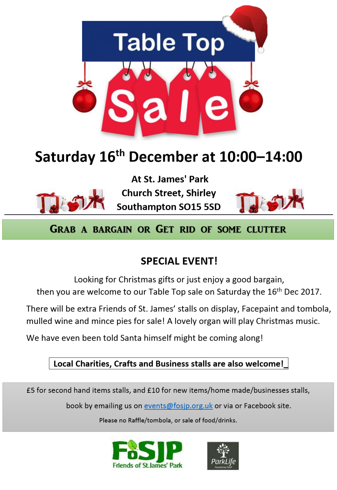Christmas special Table Top sale