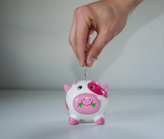 Piggy bank. Picture via Pixabay