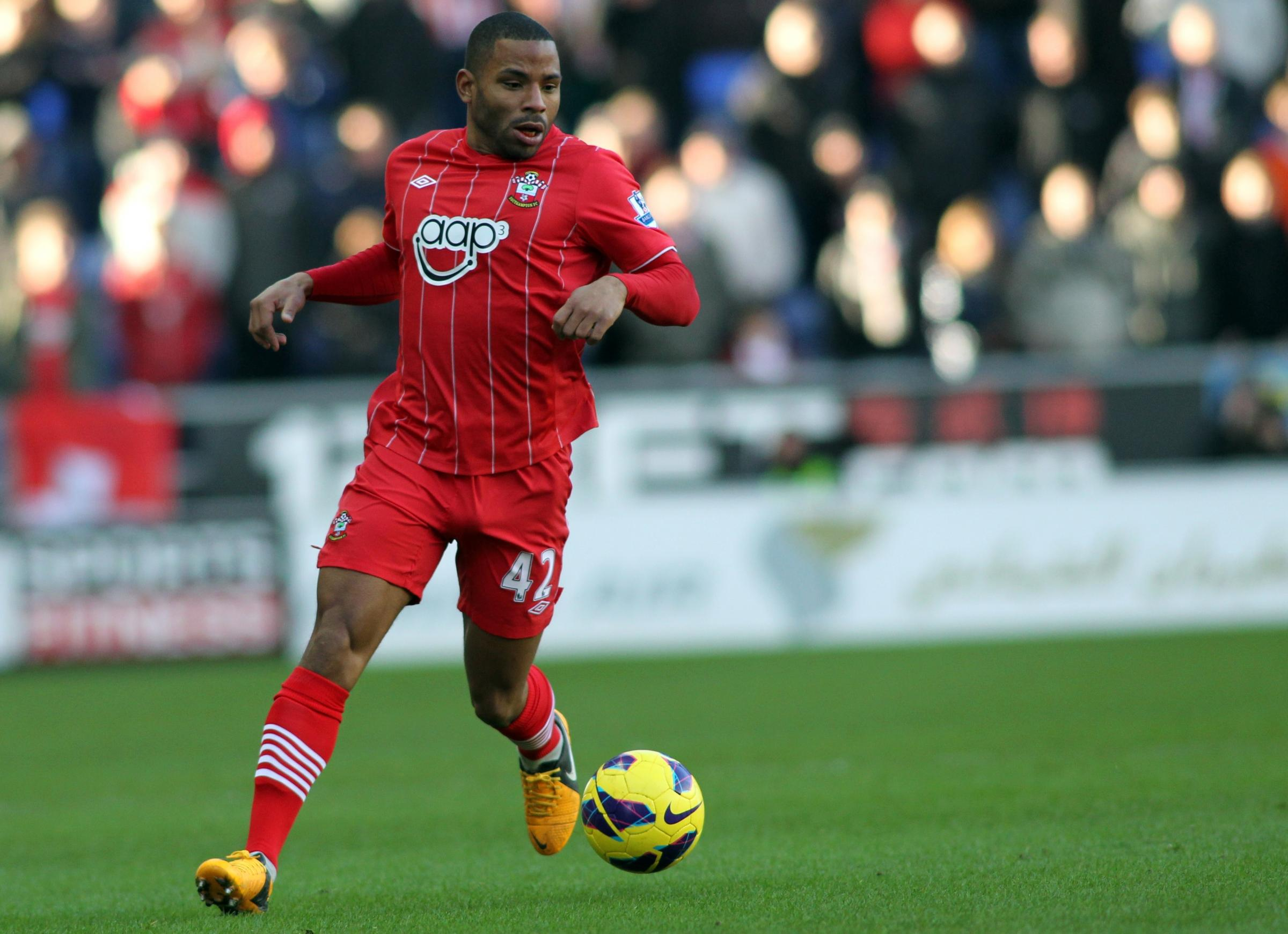 Jason Puncheon playing for Saints